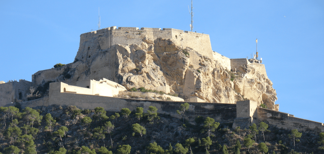Castillo panorámica