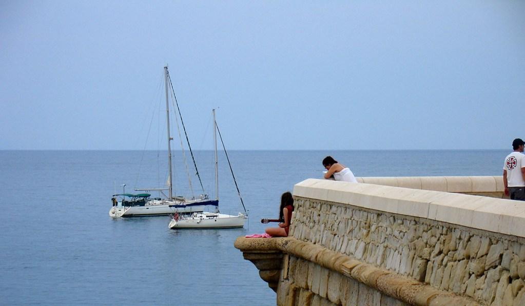 Muralla Isla de Tabarca en Alicante