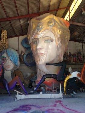 Mirada atenta en el taller. Alicante City