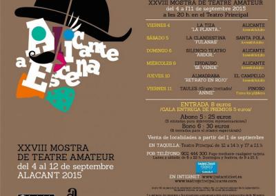 XXVIII Muestra de Teatro Amateur Alicante a Escena