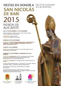 Fiestas en Honor a San Nicolás de Bari 2015. @ Fiestas en Honor a San Nicolás | Alicante | Comunidad Valenciana | España