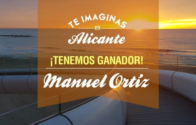 """Ganador del concurso """"Imagínate en Alicante"""""""