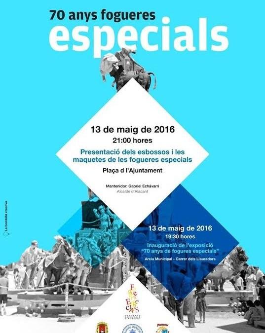 Exposición 70 años de Hogueras Especiales