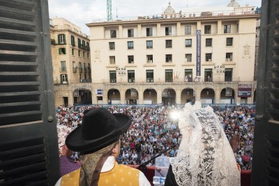 Fogueres de Sant Joan. Autor Borja López