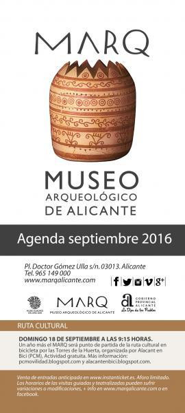 Agenda del MARQ. Museo Arqueológico Provincial de Alicante