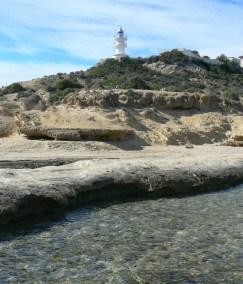 Cabo de Las Huertas. Faro