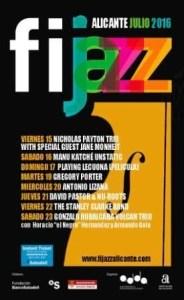 Fijazz 2016. Festival Internacional de Jazz de Alicante @ AUDITORIO DE LA DIPUTACIÓN DE ALICANTE (ADDA) | Alicante | Comunidad Valenciana | España