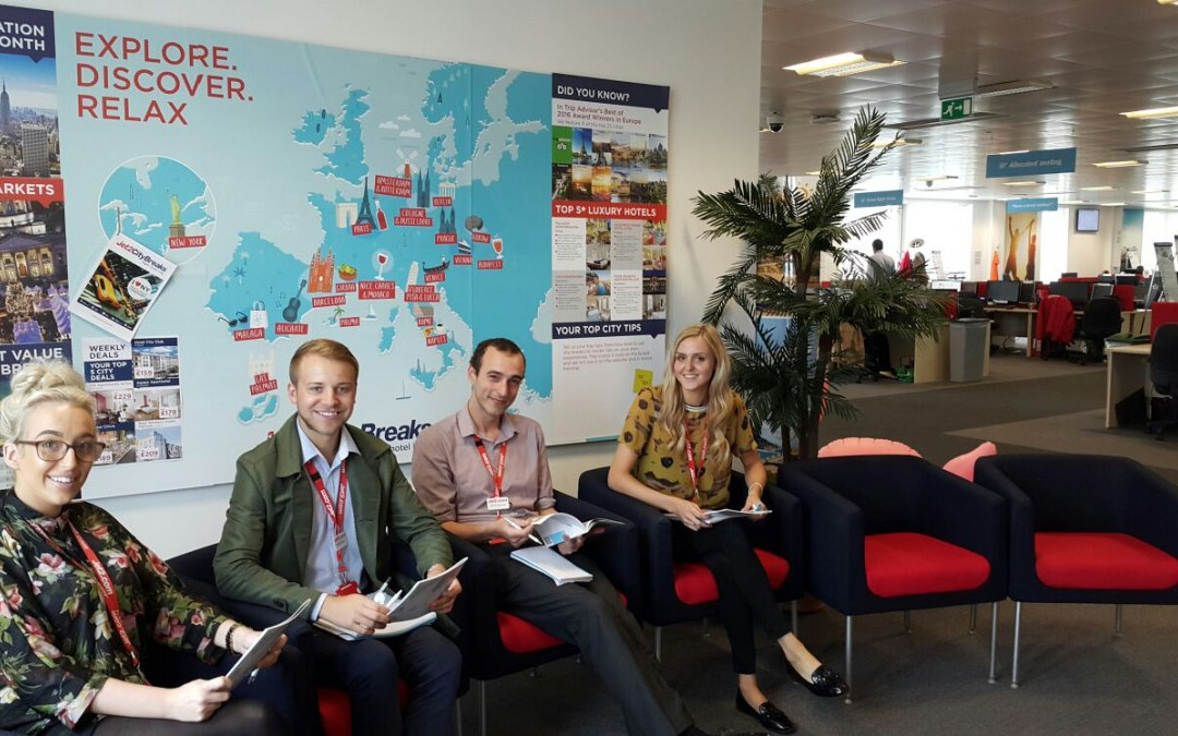 Alicante se presenta como destino City Break en la sede del Touroperador Jet2 Holidays.