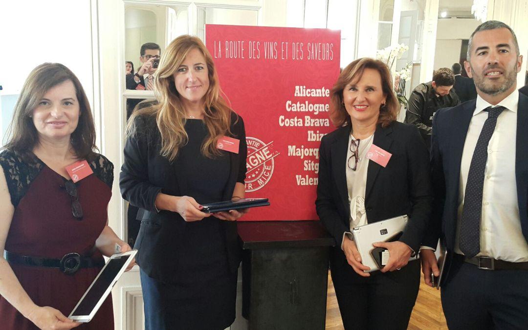 Alacant Convention Bureau intensifica la seva tasca de captació d'esdeveniments internacionals a París