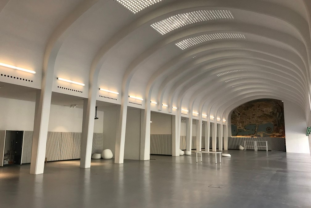 El Hall de l' Edifici Sèneca de l'antiga Estació d'Autobusos es convertix en el nou espai de celebració d'esdeveniments de la ciutat d'Alacant