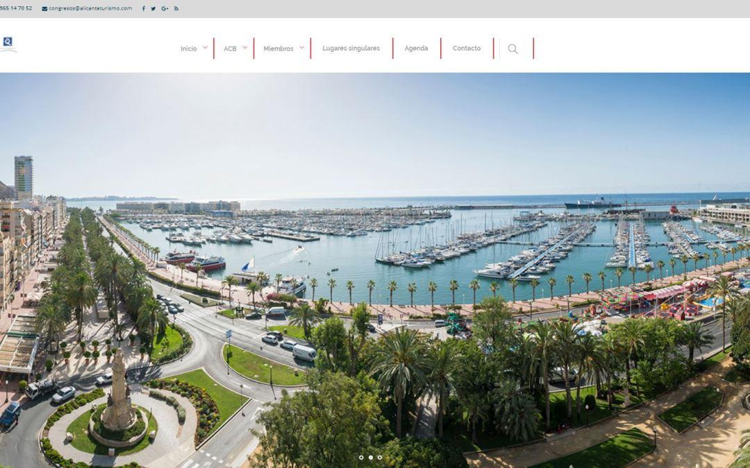 El Ayuntamiento de Alicante lanza la nueva web de congresos  para potenciar el turismo de congresos y deportivo