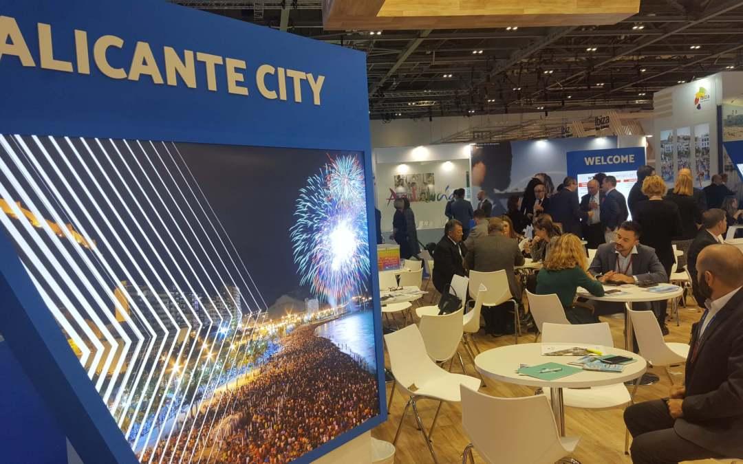 La ciudad de Alicante participa en la feria internacional de turismo World Travel Market, Londres 2018
