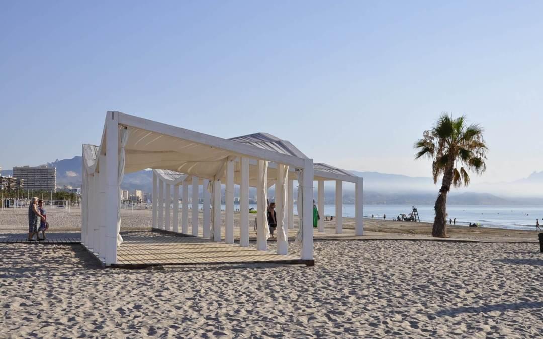 Servicio de playas accesibles 2018 en Alicante
