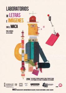 LABORATORIO DE LETRAS E IMÁGENES EN EL MACA. Para niños y niñas de 5 a 12 años y familias. @ MUSEO MACA | Alicante (Alacant) | Comunidad Valenciana | España