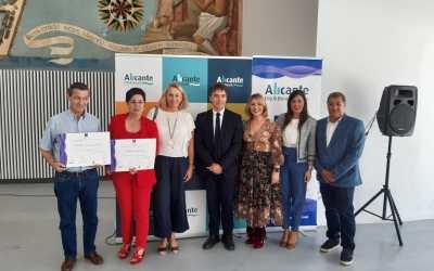 El Ayuntamiento de Alicante entrega 32 distinciones Sicted a empresas comprometidas con la calidad del turismo