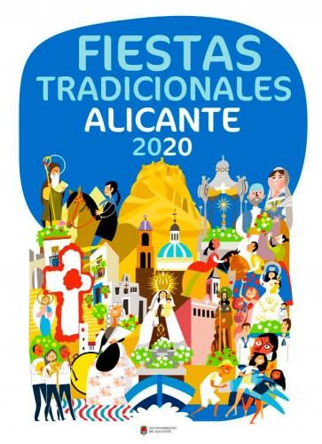 PORRATE DE SAN ANTON 2020 @ PLAZA SANTA TERESA ( PANTEÓN DE QUIJANO) | Alicante (Alacant) | Comunidad Valenciana | España
