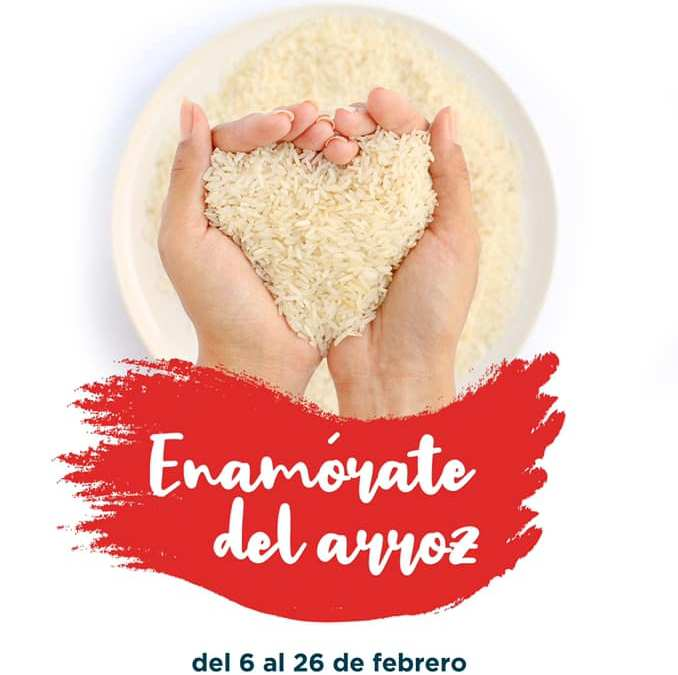 Enamórate del arroz