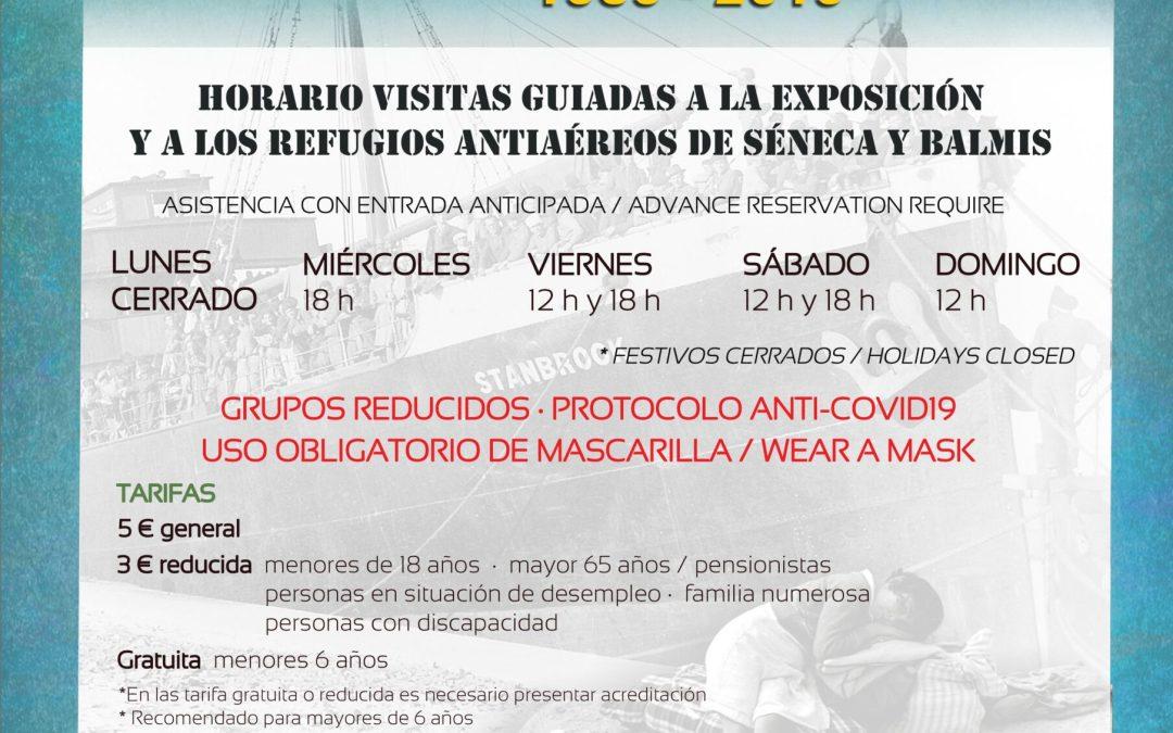 EXPOSICIÓN ALICANTE HA CAIDO, REFUGIOS ANTIAÉREOS DE LA GUERRA CIVIL
