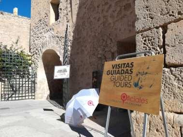 Visitas guiadas en el Castillo de Santa Bárbara