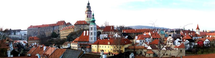 Český Krumlov - Panorama von SK