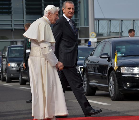Papstbesuch in Erfurt - Umsteigen