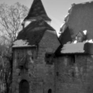 Oberschloß Kranichfeld [holga pinhole lens]