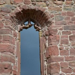 Kloster Veßra - Kirchenfenster