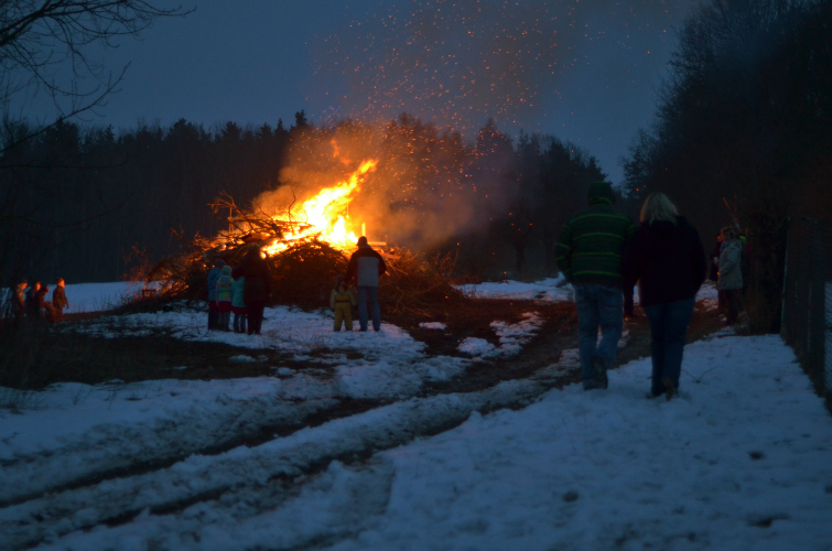 Osterfeuer 1