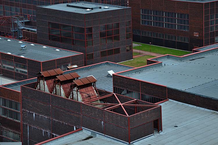 Zeche Zollverein-Von oben