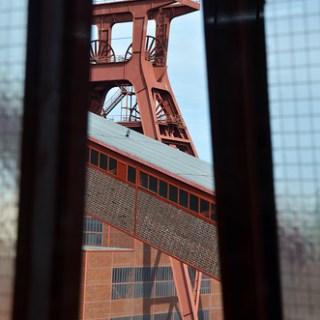 Zeche Zollverein-Fensterblick