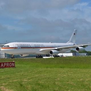 Airbus A 340-300 der Luftwaffe / Flugbereitschaft