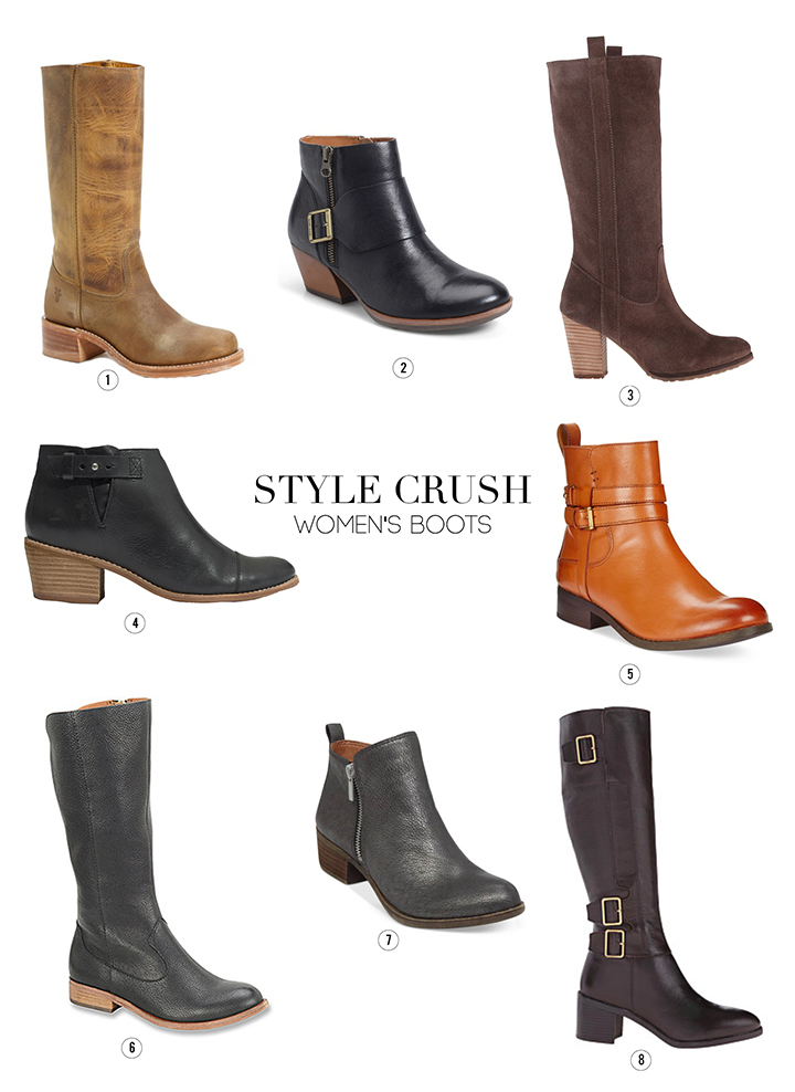 Favorite women's tall boots and booties