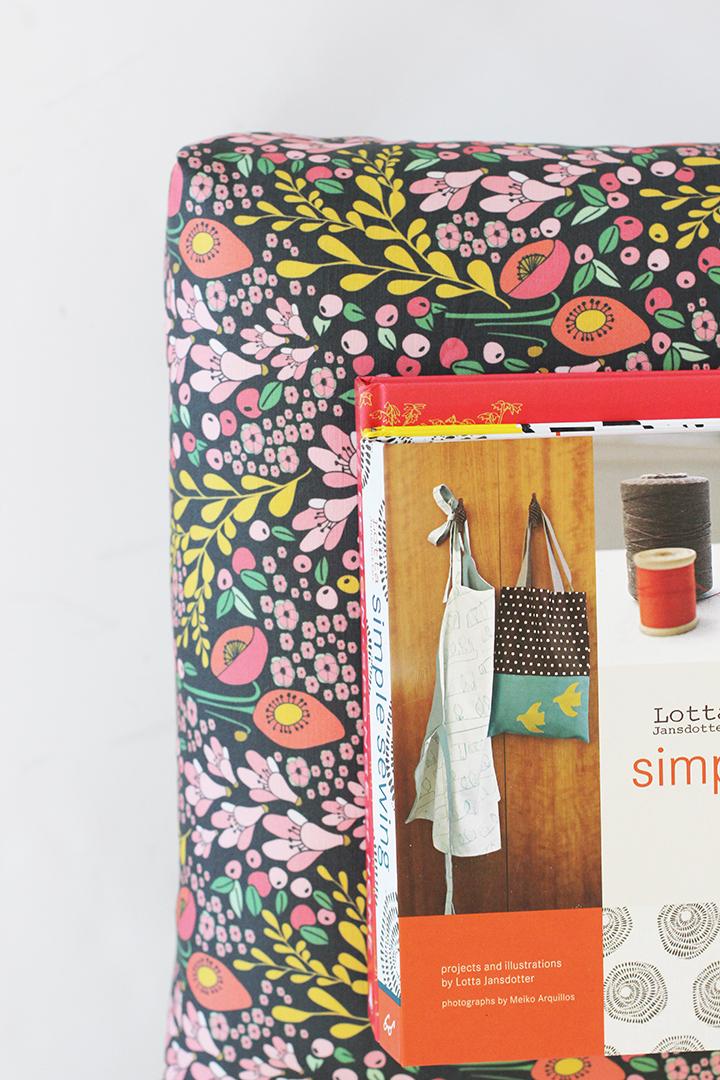 DIY Upholstered Stool   alice & lois