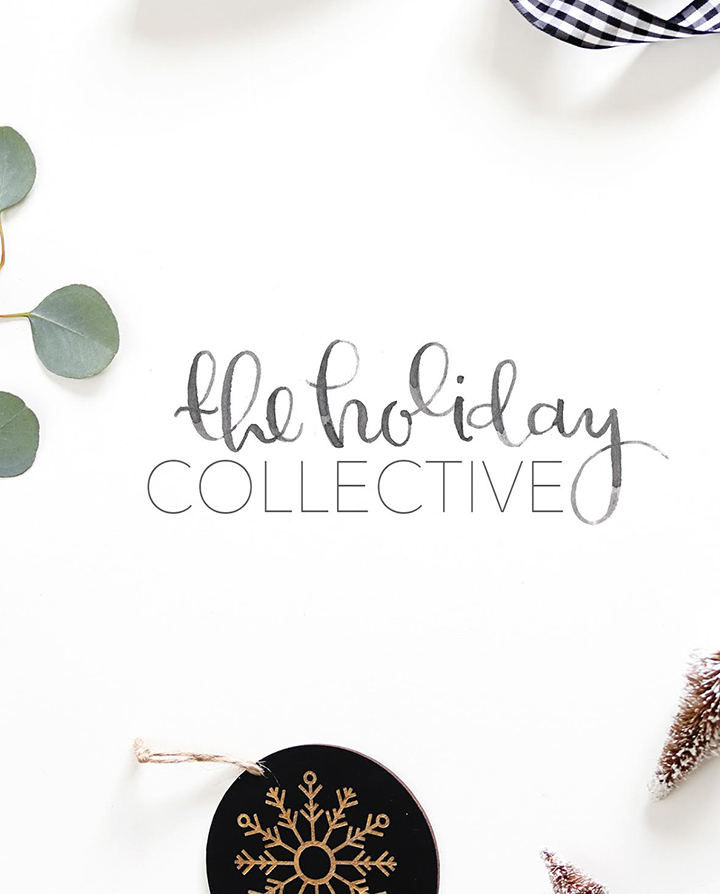 24 bloggers join forces to create a holiday pop-up blog – The Holiday Collective. It features original holiday DIY projects, recipes and more!