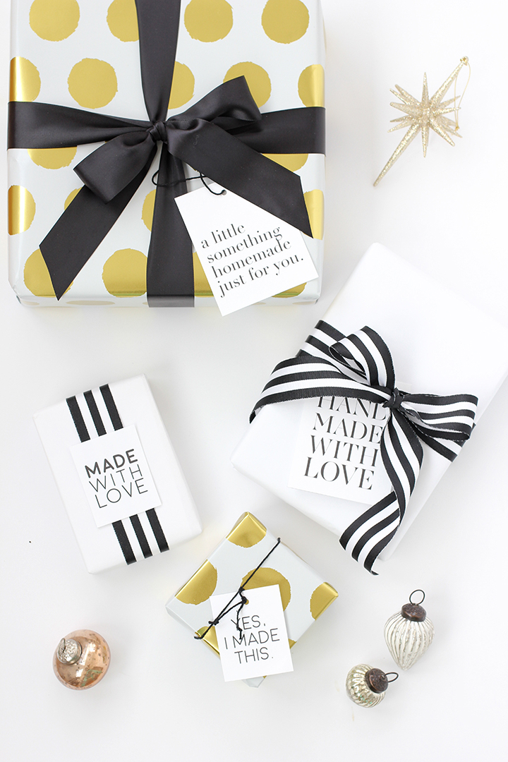 Printable Handmade Gift Tags | alice & lois for minted