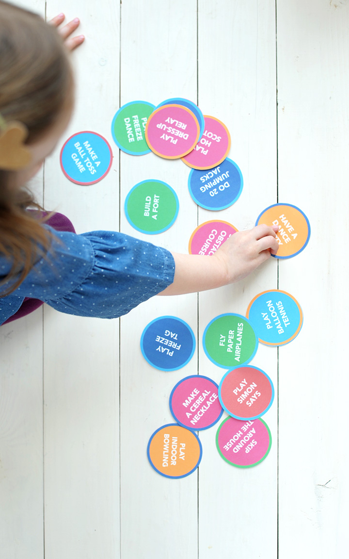 20 Best Indoor Activities for Kids with a Free Printable