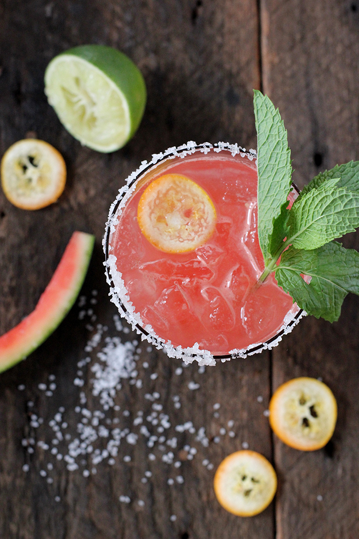 The best Watermelon Margarita Recipe!