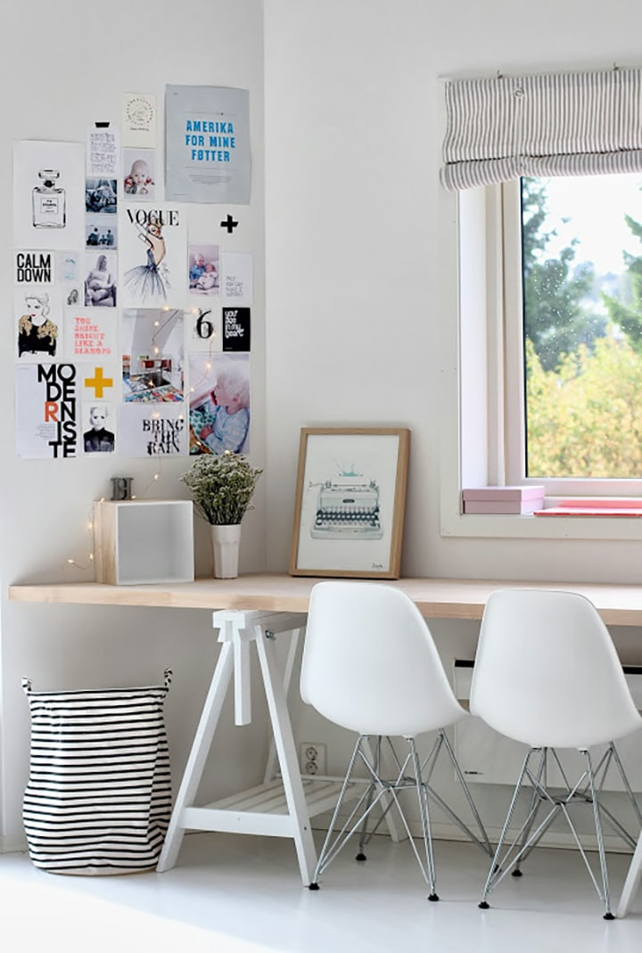 Home Crush Office Inspiration image via cecilieslykke