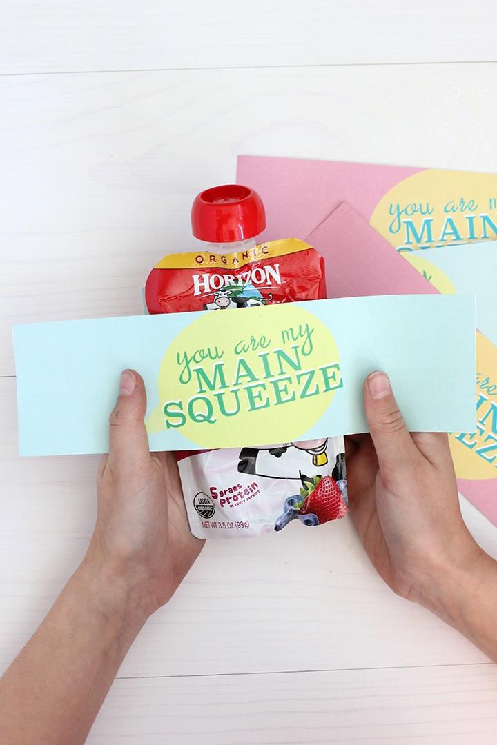 Valentine squeeze printable