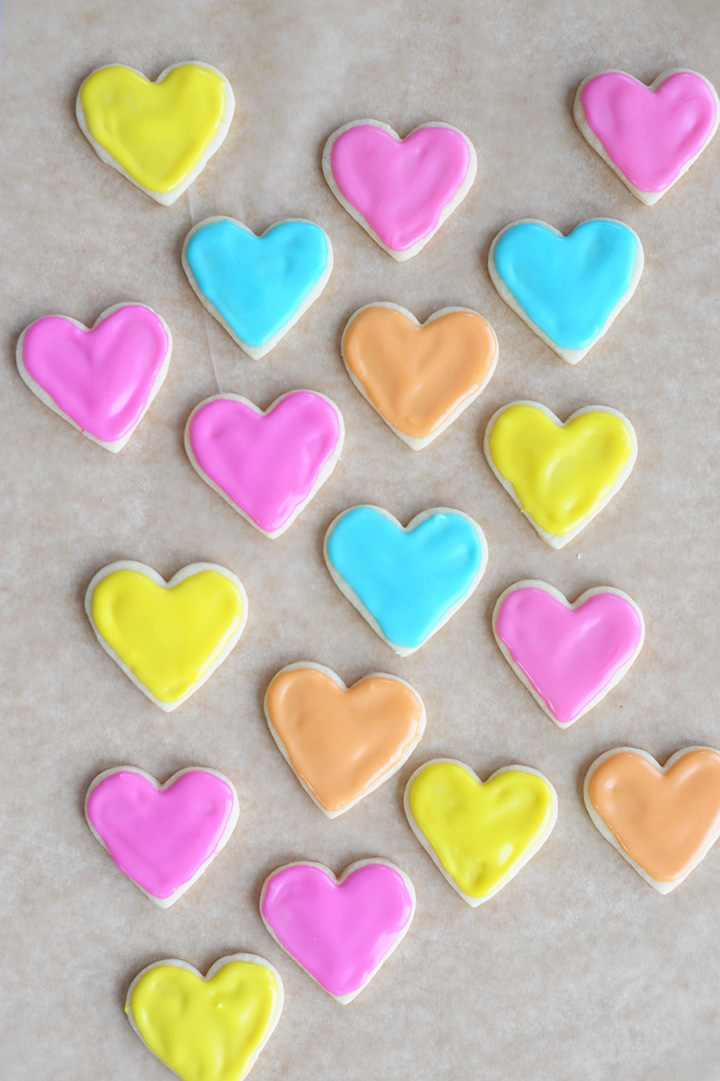 You have to make these mini heart sugar cookies for Valentine's Day. The very best recipe!