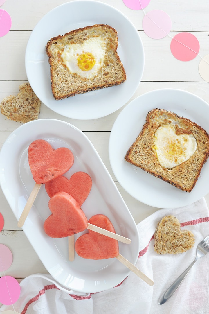 Cute idea for an Easy Kids Valentine Breakfast.