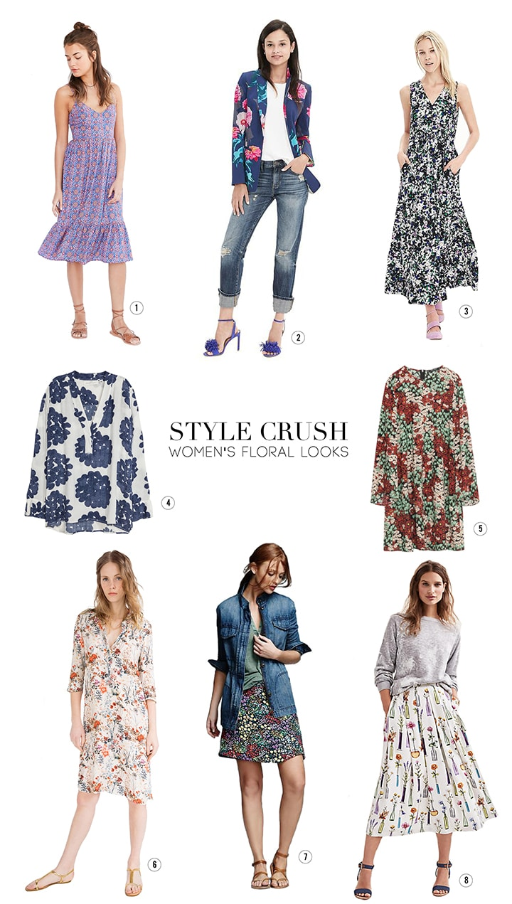 Style Crush Spring Floral Looks for Women | alice & lois