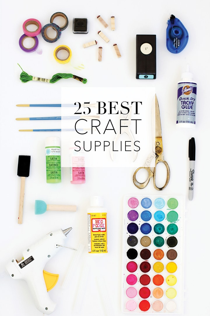 25 Best Craft Supplies | alice & lois