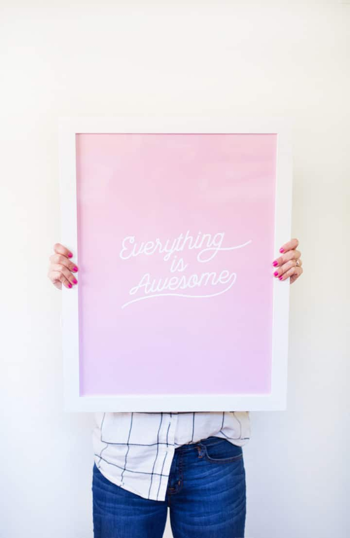Great roundup of free printable wall art. This one is by Lovely Indeed.