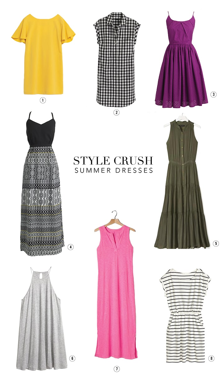 Favorite Dresses for Summer