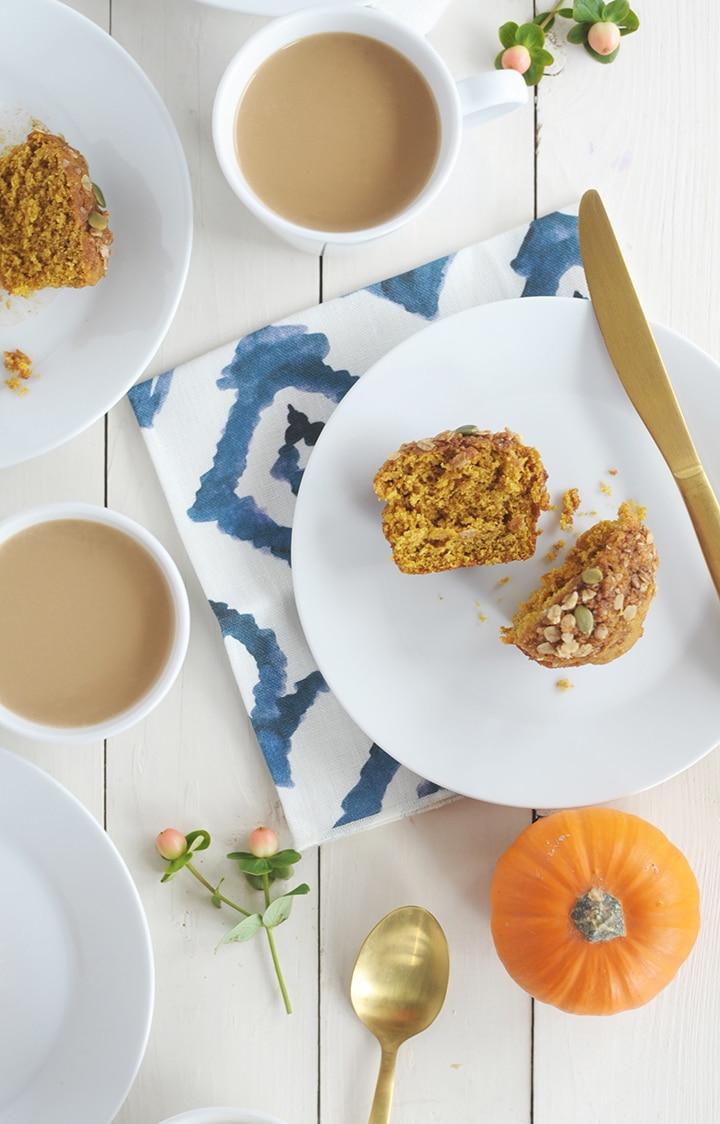Here's our favorite Healthy Pumpkin Muffin Recipe