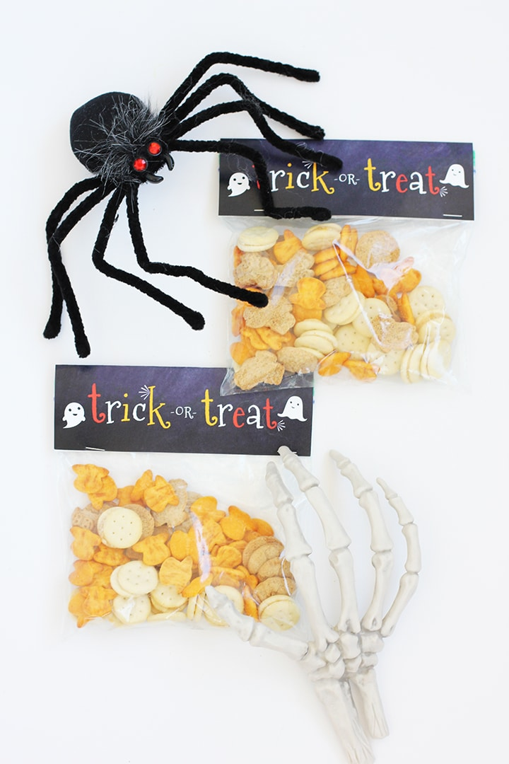 Halloween Snack Bag Labels Free Printable