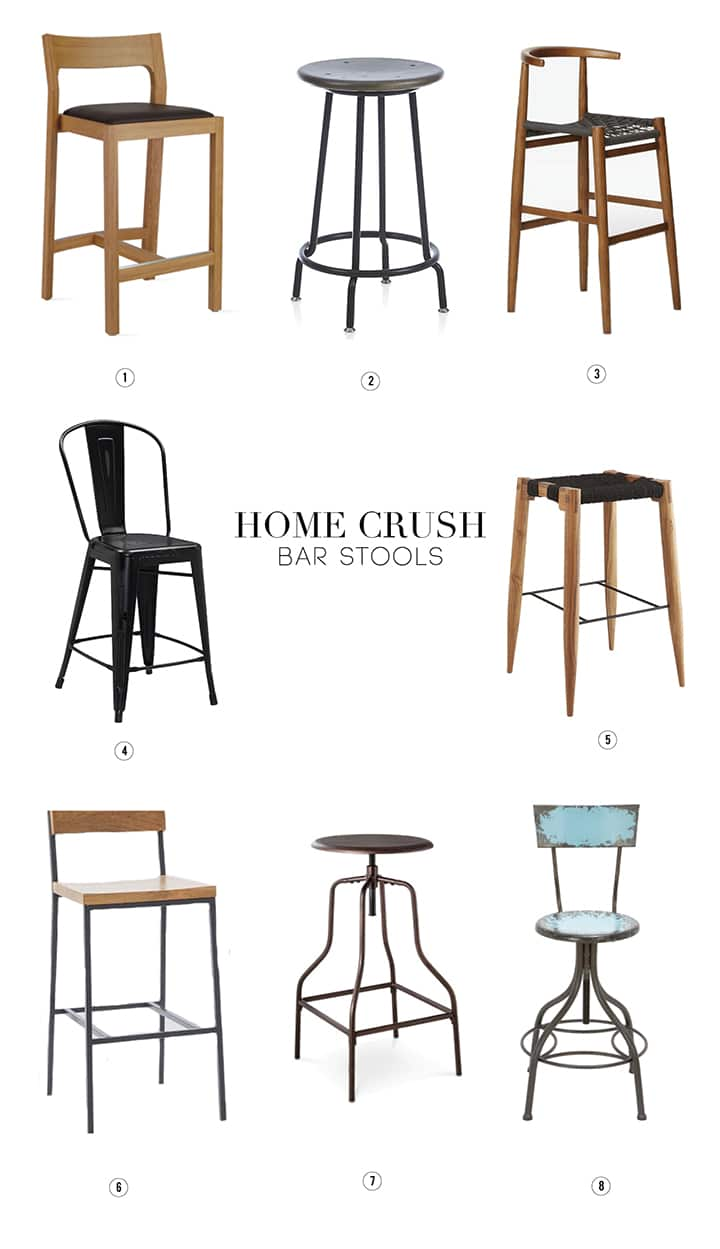 A roundup of our favorite bar stools.