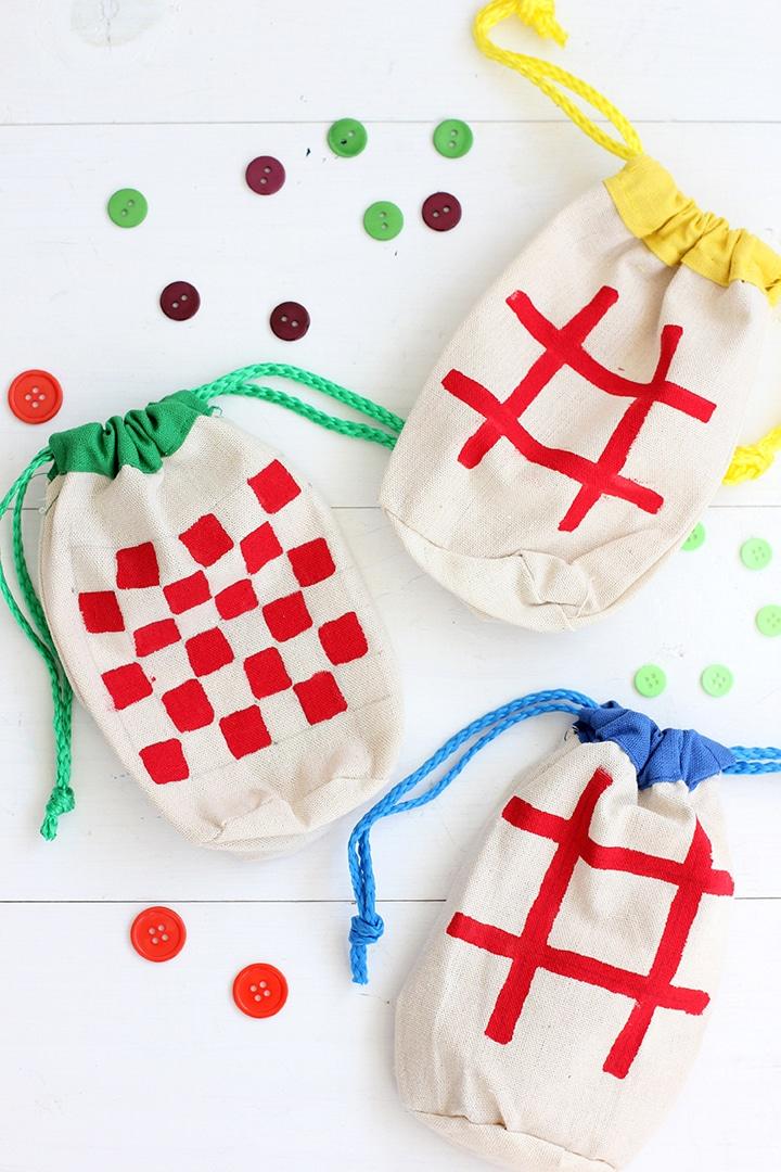 DIY Kids Mini Travel Games