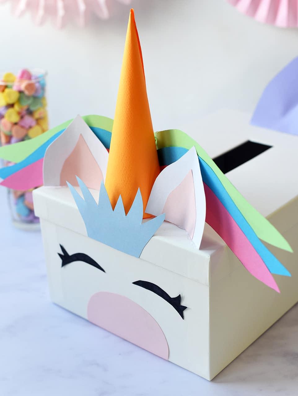 Alice And LoisDIY Unicorn Valentines Card Box Alice And